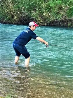 Russ Fishing Fast Water