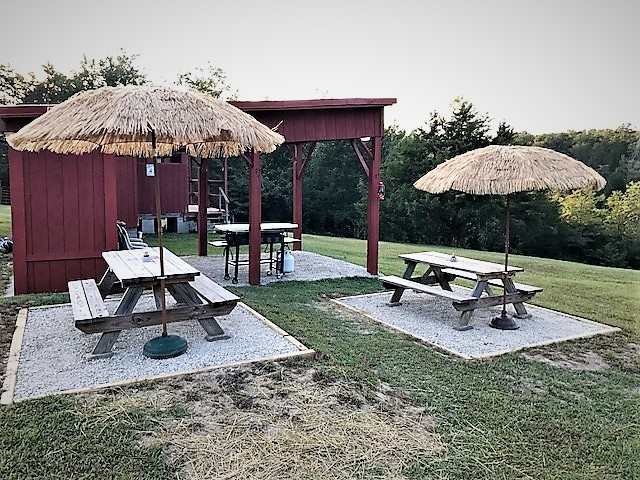 Community Picnic Tables & Pavilion II