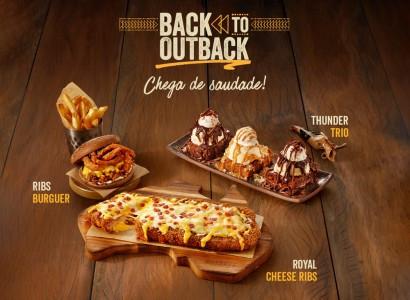 Chega de saudade: Outback anuncia a volta de grandes sucessos para o menu