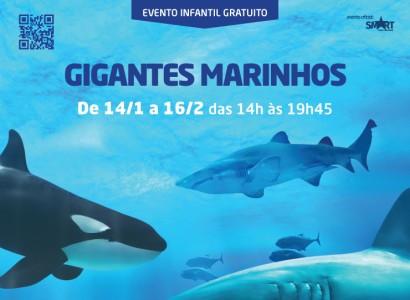 Gigantes marinhos invadem o Beiramar Shopping na próxima semana