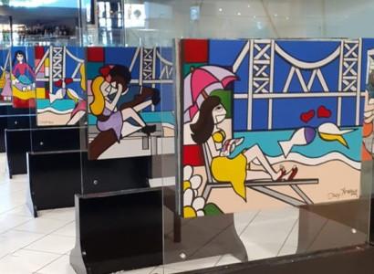 Beiramar Shopping promove exposição sobre a Ponte Hercílio Luz