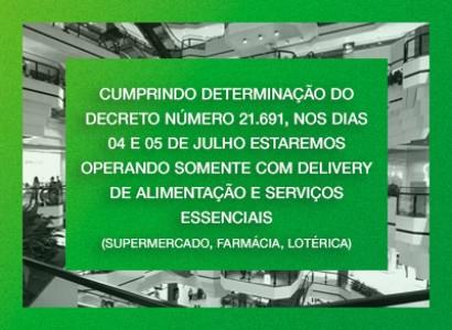 Confira os horários de funcionamento do Beiramar Shopping
