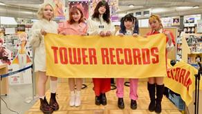 タワーレコード名古屋パルコ店EGG SHELL 2ndアルバム「DIAMOND」CD発売記念イベント!!