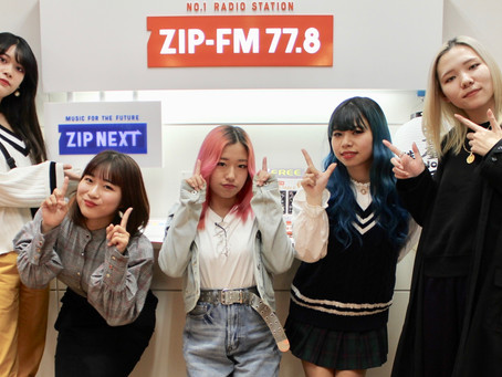 ZIP-FM新年特番「ZIP-FM NEW YEAR SPECIAL START IT UP! 2020」にEGG SHELLゲスト出演!!