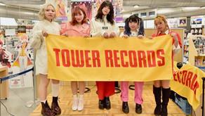 EGG SHELL「RUNWAY」CD発売記念インストアライブ @タワーレコードイオン鈴鹿店特設ステージ2020.2.2(SUN)