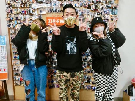 ZIP-FM「Mirror Park」生ゲスト出演!今日は英語DAY !?