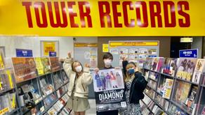 タワーレコード名古屋パルコ店 挨拶してきました!!
