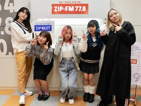 ①ZIP-FM「 EGG SHELL DAY」①テンションの上がる気持の良いスタート