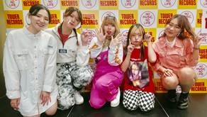 タワレコ名古屋パルコ店インストアライブ!!