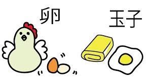 EGG? たまご? 卵? 玉子?