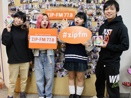 ④ZIP-FM「 EGG SHELL DAY」④BESTIE ゲスト出演