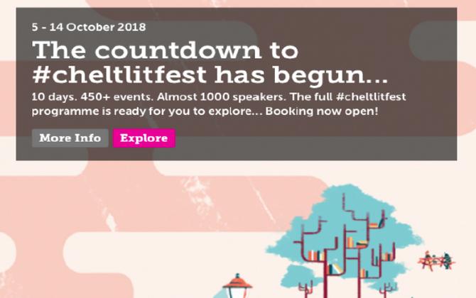 Cheltenham Literature Festival 2018