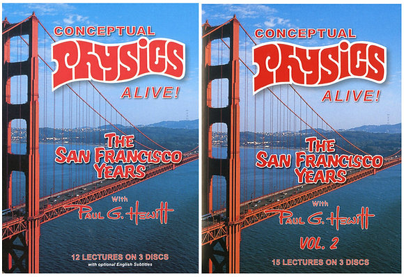 Conceptual Physics Alive! The SF Years. Vols 1 & 2