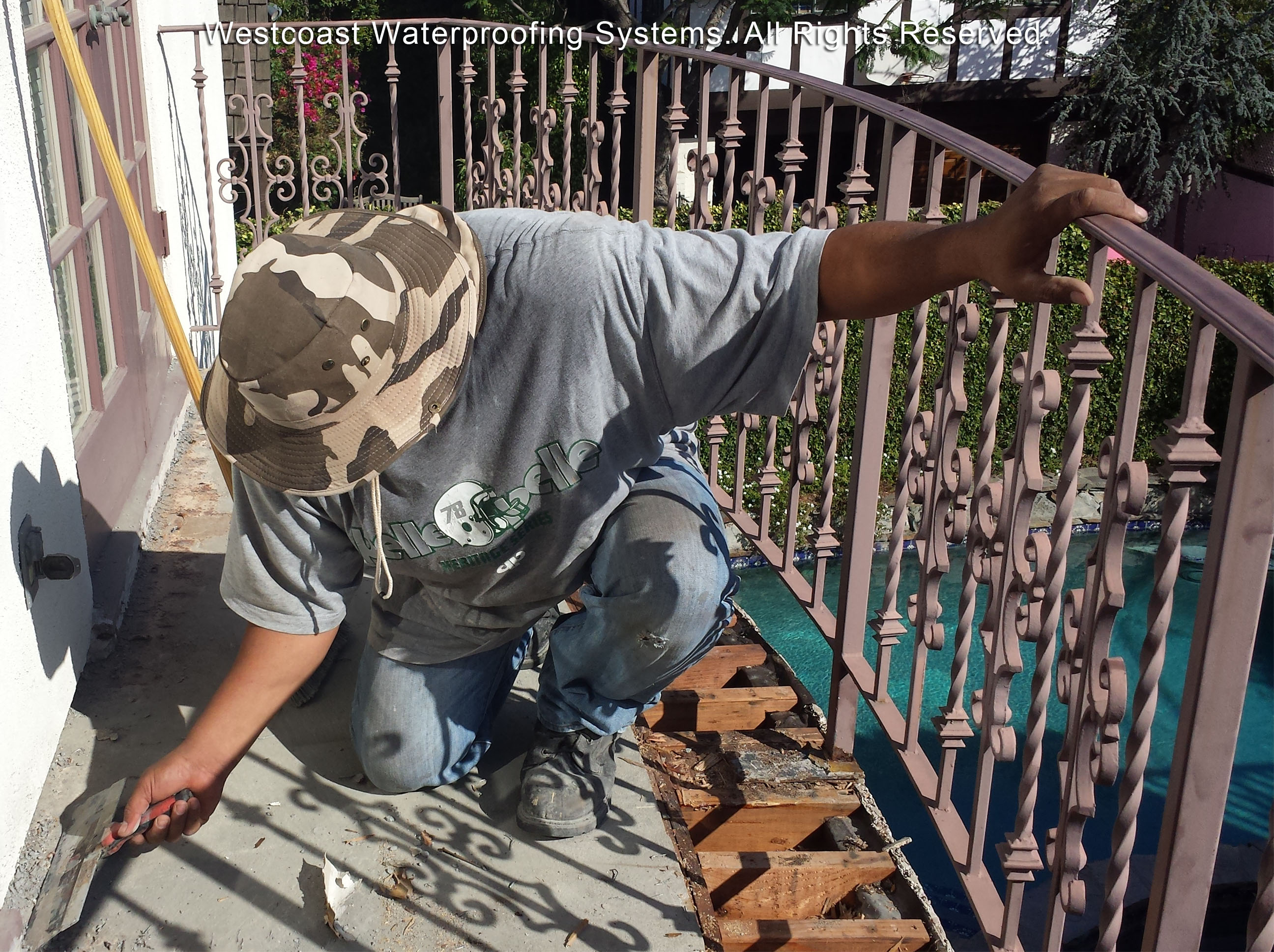 Deck Coating Balcony Repairs 25th Street