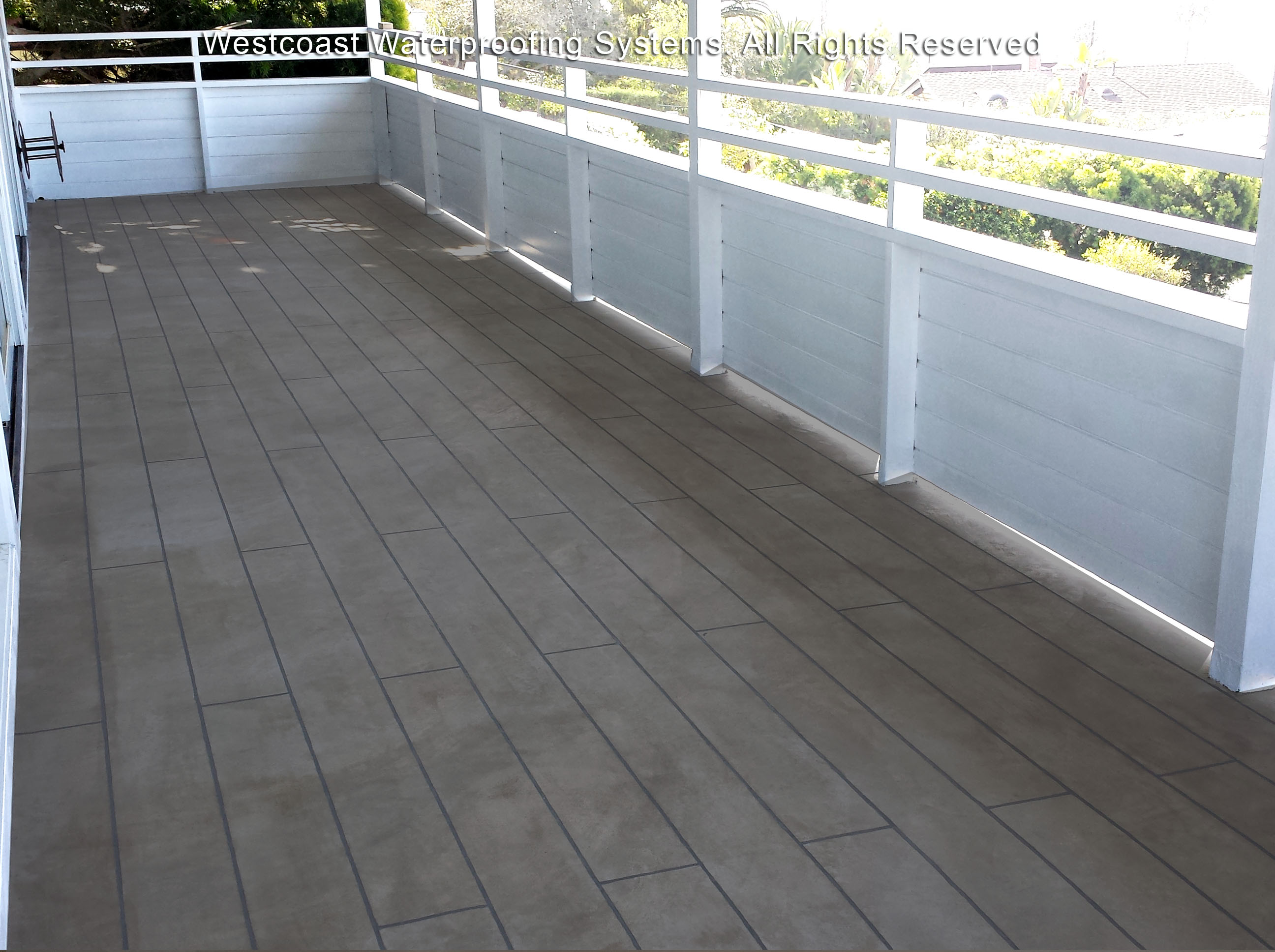 Deck Waterproofing Deck Coating Balcony