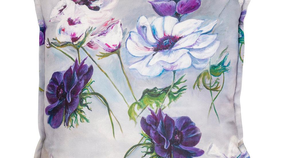 Violets design on cotton (cover)