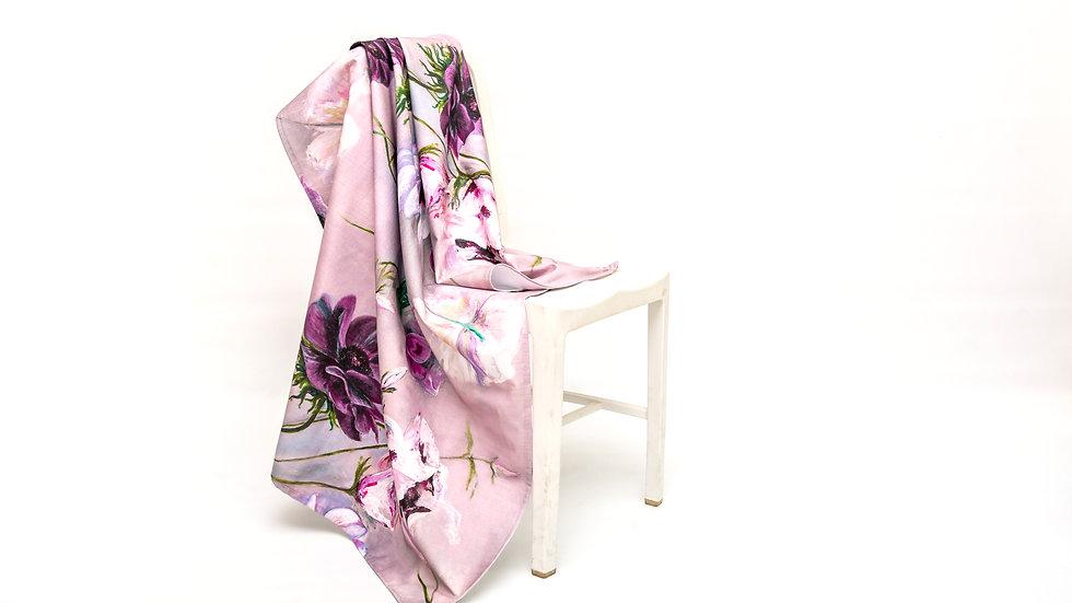 Amelia Mariella Violet Fabric