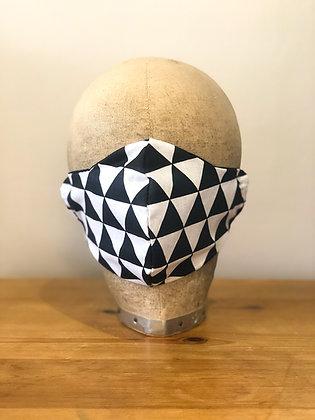 Monochrome Face Mask