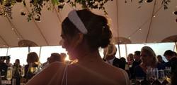Hannah's wedding headband