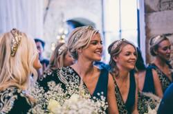 Kasha's bespoke bridesmaid headbands