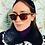Thumbnail: Black Pearl Velvet Turban Headband