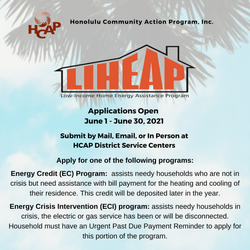 Low-Income Home Energy Assistance Progra