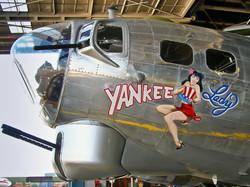 Yankee Lady Nose Art