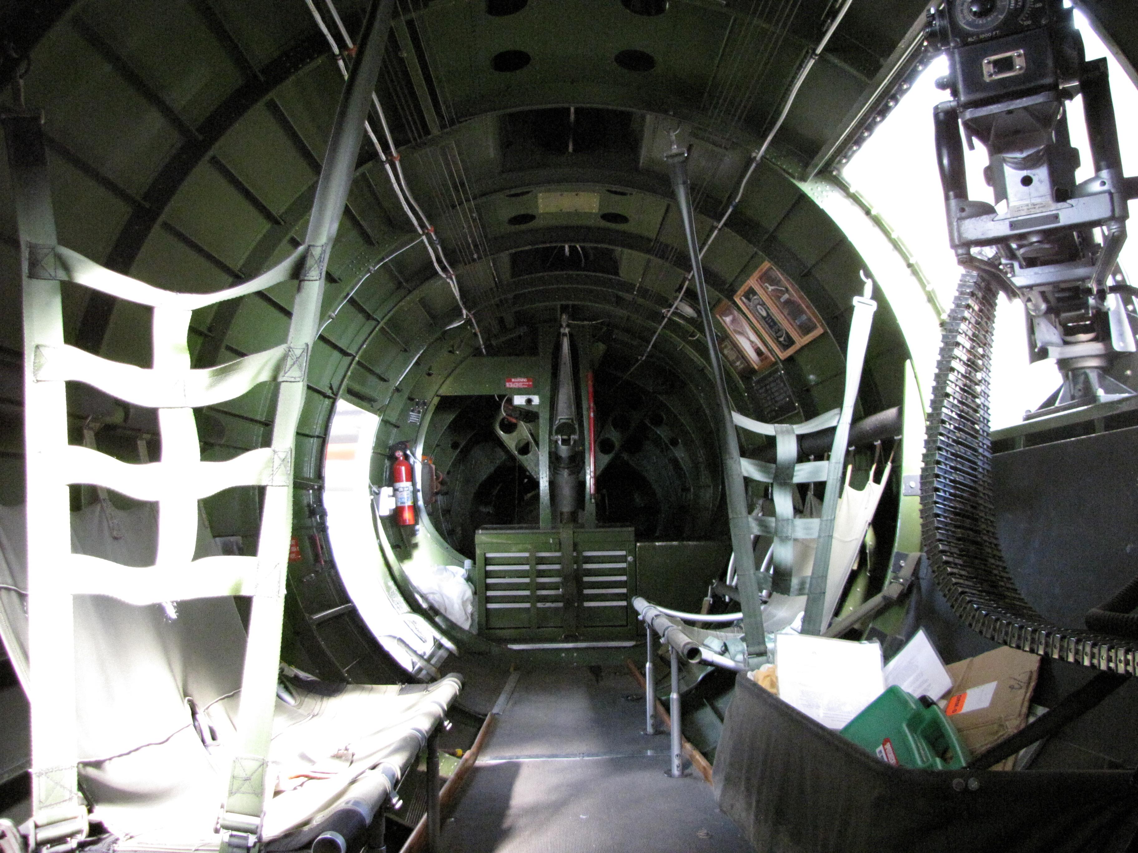 B-17 INTERIOR 1