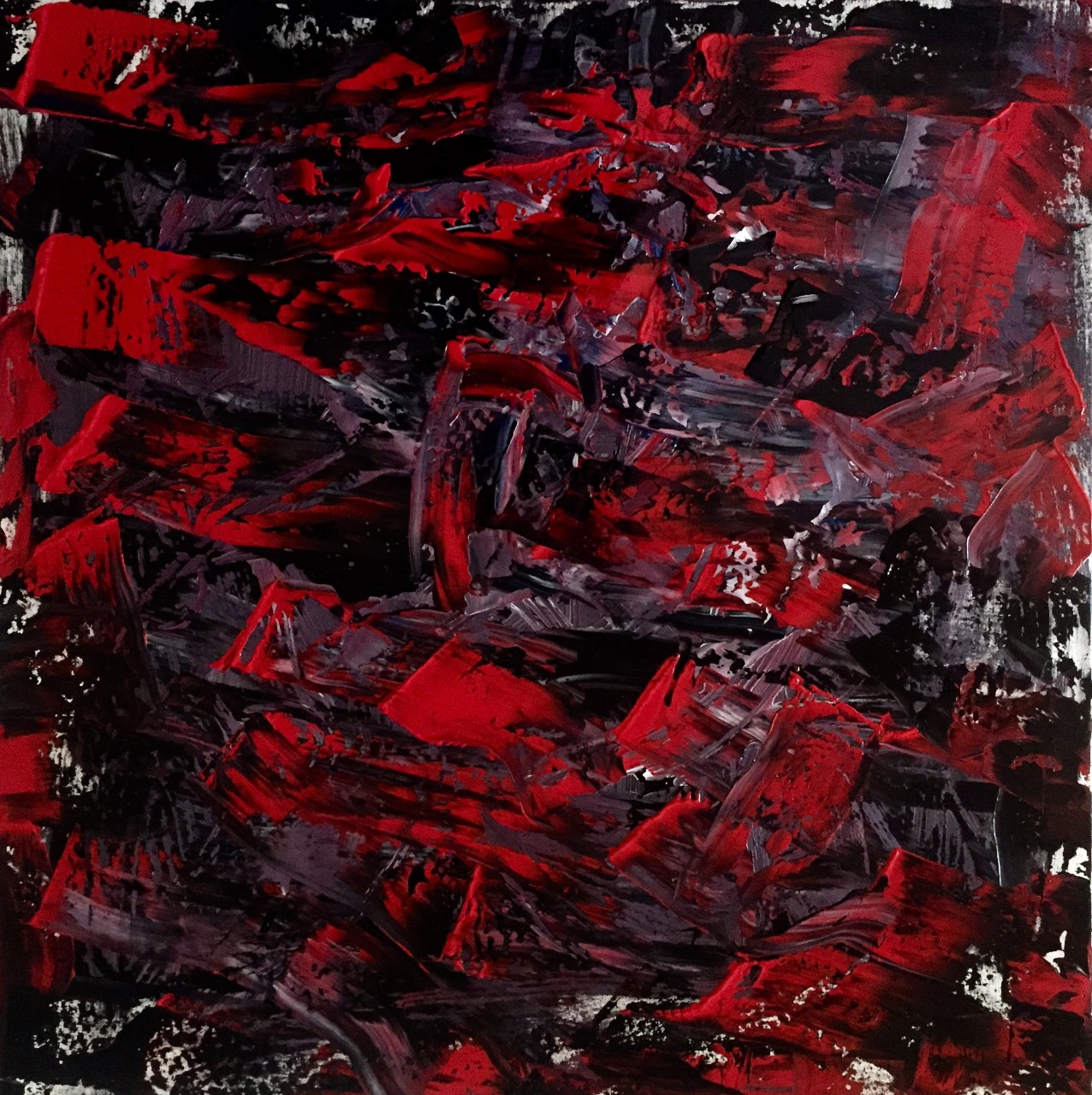 red into black