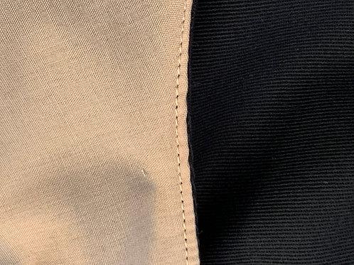 Beige reverses to Black