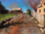 Goodrow Reine-Creeping Shadow-pastel-12x