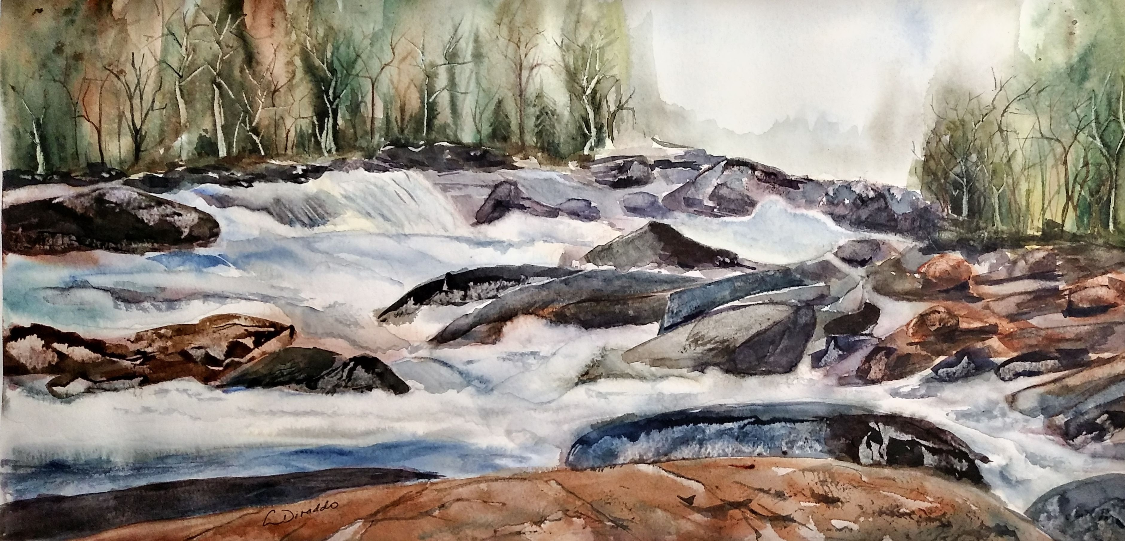 Linda Diraddo-Murmure de l'eau