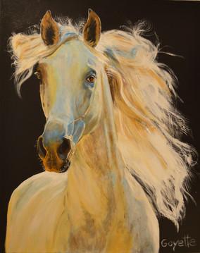 prix harmonie des couleurs décerné à Diane Goyette pour sa toile : «Beauté»