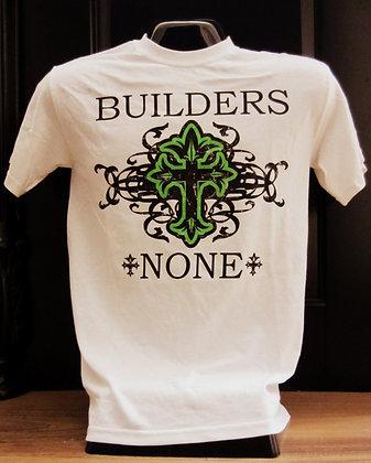 Builders None Cross Tee