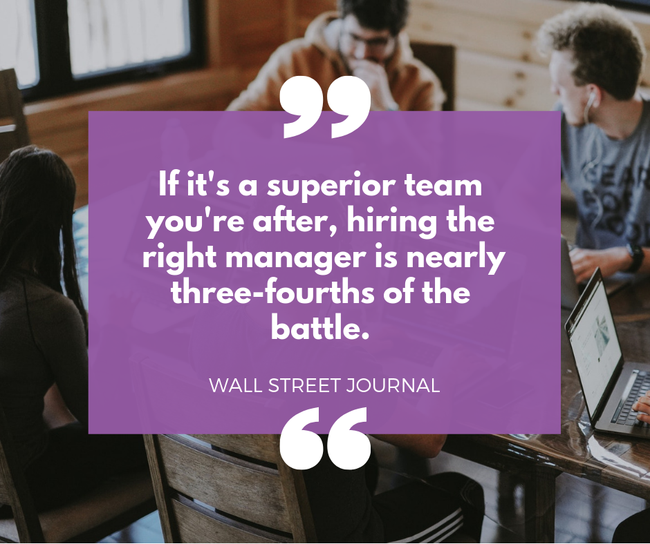 middle managers quote from The Wall Street Journal