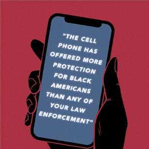 The cell phone has offered more protection for Black Americans than any of your law enforcement, Alli Davis
