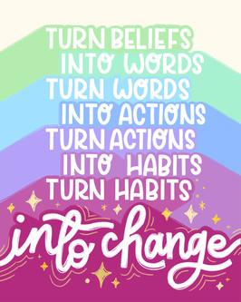Turn Beliefs into Change, Olivia Olsen