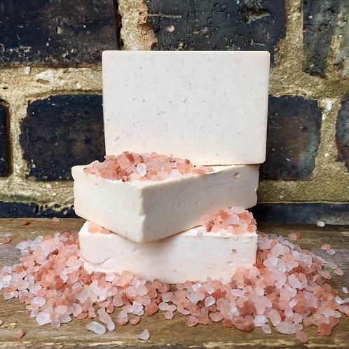 Rosewater Geranium Salt Soap