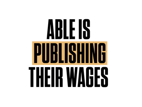 No More Secrets: ABLE is Publishing their Wages