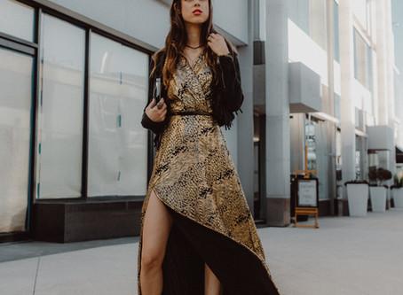 JUNIM LOS ANGELES: Ecoglam Dresses for NYE