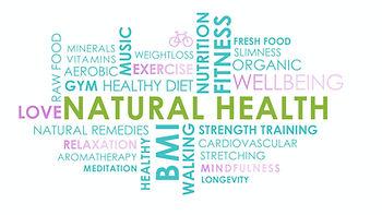 Natural Health Wordmap