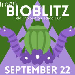 Urban BioBlitz is Back on September 22!