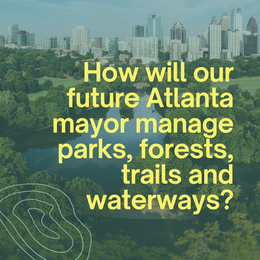 Mayoral Forum on Greenspace on Sept. 8