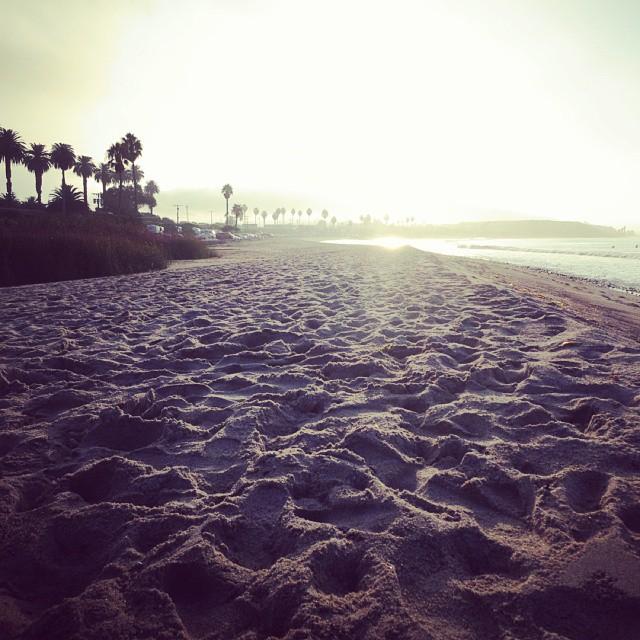 #california #barefoot #beach