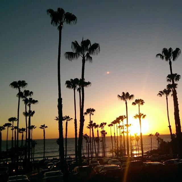 #sunset #california #san clemente #pier #goodday_今日は夏みたいな1日だったよー☀