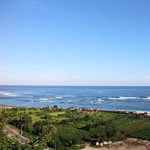 Härliga stränder på södra Bali