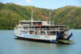 Färja från Padang Bai till Lombok