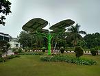 Solar Tree Landscape