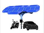 Solar Tree EV Charging Station