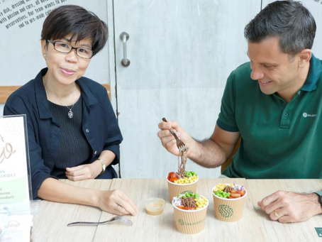 [Press Release] KosmodeHealth launches W0W™ noodles